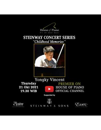 Steinway Concert Series Yongky Vincent
