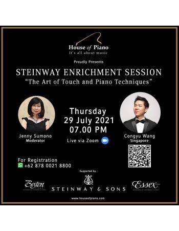 Steinway Enrichment Session
