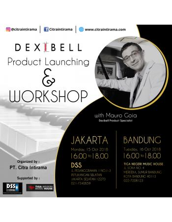 DEXIBELL PRODUCT LAUNCHING AND WORKSHOP