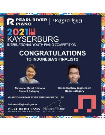 Kayserburg Youth Piano Competition 2021 WINNERS
