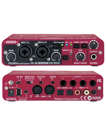 roland-fa-66-24bit192khz-firewire-audio-capture
