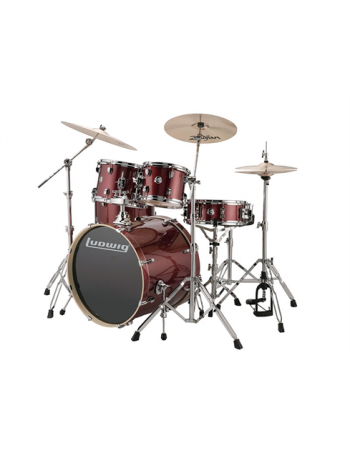 ludwig-evolution-5-pc-wine-red-w22-bd-lcee22025