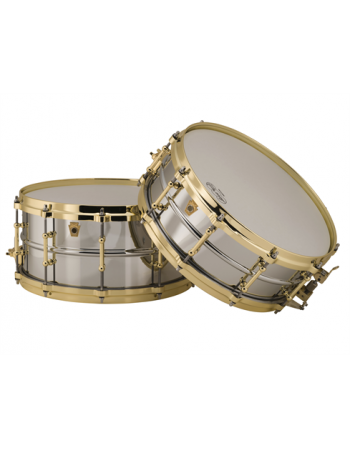 ludwig-chrome-over-brass-lb400bbtwm-snare